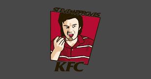 steve approves kfc t shirt