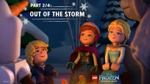 Lego Frozen Northern Lights 2016 Lego Disney Frozen Northern Lights Part 2 4 Out Of The Storm Disney