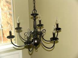 oil rubbed bronze spray paint builder grade chandelier 3 rustoleum antique brass uk painted works antique brass