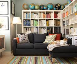 Living room organization furniture Storage Cabinet Creative Storage Solutions Keep This Home Organized And Provide Place For Everything Collections Such As The Homeowners Scores Of Colorful Books Home Design Small Home Storage Organization 2013 Decorating Ideas House Tour