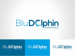 pool service logo. Blu Dolphin Pool Service Logo Design By Nikkiblue R