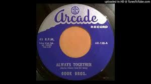 COOK BROTHERS: Always Together (Arcade Records) 1960 -- Pennsylvania ...