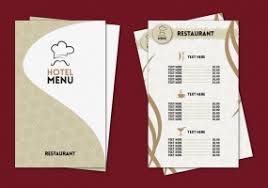 pages menu template hotel menu template free vector graphic art free download found