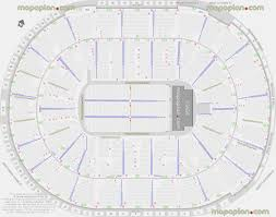 Competent United Center Map With Seat Numbers San Jose