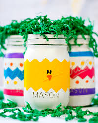 Crafts With Mason Jars Peeps Mason Jars For Easter Mason Jar Crafts Love