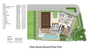 club house ground floor plan highslide js