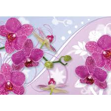 Paper Orchid Flower Mural No 2958 Non Woven Or Paper Orchids Wallpaper Orchid