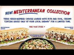 food review subway tteranean sandwiches
