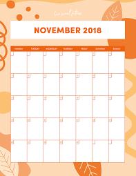 November Through November Calendars November Calendar Love Sweat Fitness