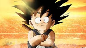 Dragon Ball Z - Kid Goku Sea Sunset HD ...