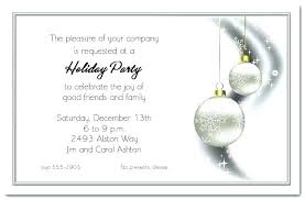 Company Christmas Party Invites Templates Free Holiday Party Invitation Templates Invite Corporate
