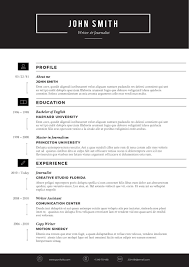 resume template clean contemporary word templat inside 81 terrific creative resume templates template