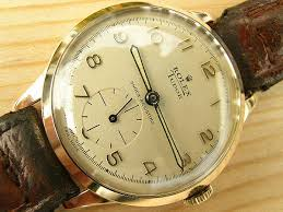 rolex tudor gold 1956 vintage watches rolex tudor gold 1956