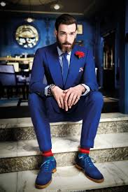 Image Result For Grooms All Blue Suit Wedding Ideas Pinterest
