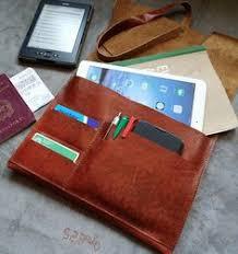 leather ipad case handmade leather notebook case tablet handmade case leather wrap case