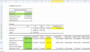 linear regression formula excel regression ysis with excel fig linear regression excel 2007 graph