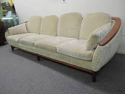 dazzling mid century modern huber curved back sofa r huber co