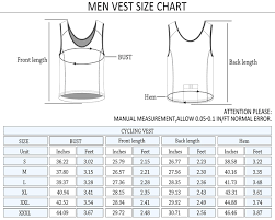 Tank Top Size Chart Men Splendies Size Chart Men