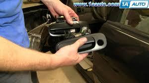 house front door handle. How To Install Replace Broken Exterior Front Door Handle Toyota Corolla 98-02 1AAuto.com - YouTube House R