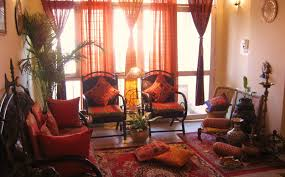 Great  Home Decor Ideas India On Rajasthani Style Interior Design - Home interiors india