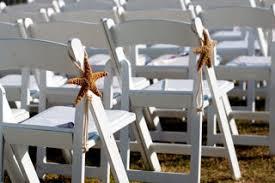 beach wedding chairs. Beach Wedding - Starfish Chair Decoration 6\ Chairs S