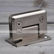 whole xondoe bathroom glass door zinc alloy steel narrow hinges dinobulk com
