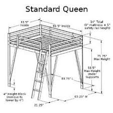 queen size bunk bed plans Stuff for me Pinterest