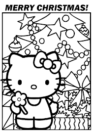 Small Picture Christmas Coloring Pages use this Hello Kitty Christmas