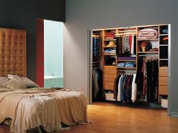 top notch parquet flooring in grey wall painting and wall mounted closet storage