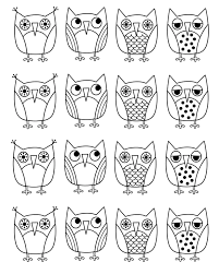 Small Picture owl coloring page wwwmindsandvinescom