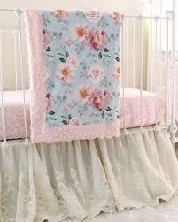vintage crib bedding