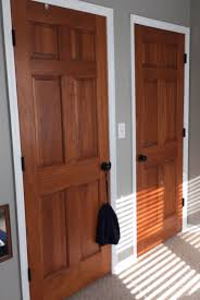 Wood Interior Doors With White Trim Awesome Wood Interior Doors With