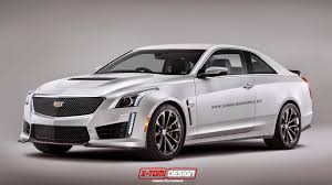 2016 Cadillac CTS-V Rendered as a Coupe - GTspirit