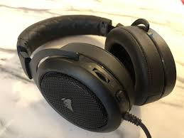 Corsair HS50 Stereo Gaming Headset - Review - heavy cans, but ...