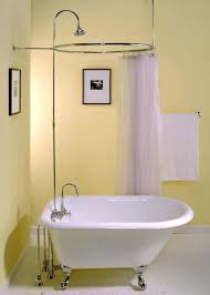 claw tub shower curtain bathtubs clawfoot tub shower curtain liner solution i am so obsessed with