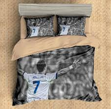 3D Customize Cristiano Ronaldo Bedding Set Duvet Cover Set Bedroom Set  Bedlinen   Three Lemons Hometextile