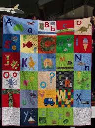 16 best Alphabet baby quilt images on Pinterest   Child, Art ideas ... & Alphabet quilt by KaLily2010, via Flickr Adamdwight.com
