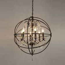 orb lighting chandelier orb crystal iron 6 light chandelier capital lighting orb chandelier orb lighting chandelier