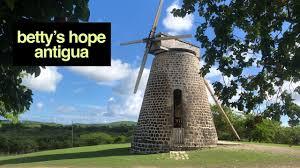 Betty's Hope, Antigua - YouTube