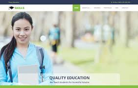 Templates For Education Education Bootstrap Html Website Template Webthemez