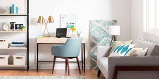 home office style. Home Office Style With Pastel Colors