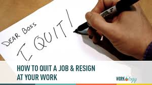 list of reasons for leaving a job the perfect revenge how to quit a job resign at work workology