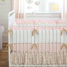 decoration daisy crib bedding garden pink chevron color ideal jean