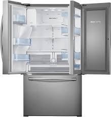 sharp french door fridge. door samsung rf28hdedbsr - 27.8 cu. ft. sharp french fridge e