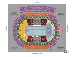Memorable Little Caesars Arena Interactive Seating Chart