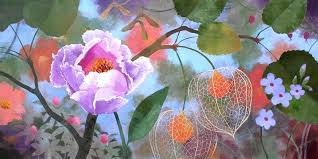 acrylic painting flowers acrylic painting rose tutorial