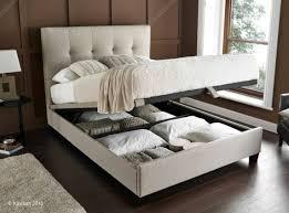 Ottoman Bedroom Kaydian Walkworth Ottoman Storage Bed Oatmeal Fabric Super