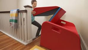 The Sliderider Makes Your Stairs Into A Slide Homes And Hues