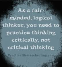 Related Articles  middot   Critical Thinking