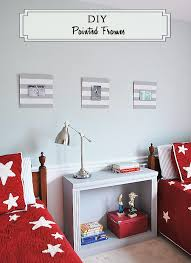 painted wood picture frames. DIY Wood Painted Sports Frames For Kids\u0027 Pictures | 11 Magnolia Lane Picture B